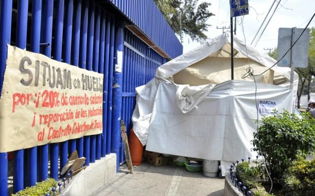 Tras casi nueve horas de negociación, sigue la huelga en la UAM - Foto de Notimex