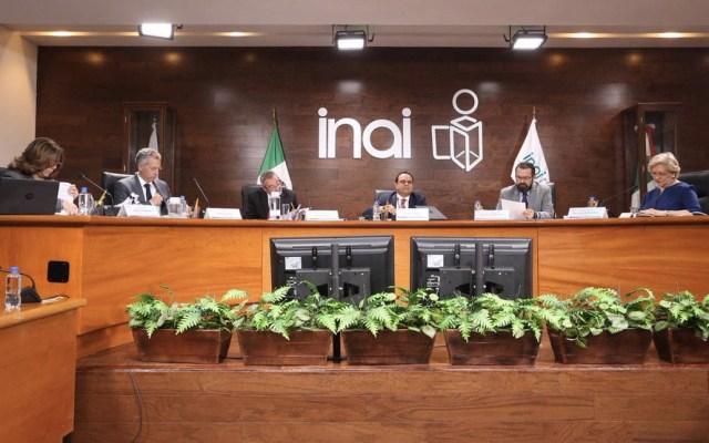 Inai pide a Presidencia informar sobre figura de 'superdelegados' - Foto de Inai