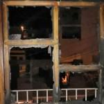 Incendian casa de familia con tres niños adentro en Zacatecas - Incendio de inmueble en Zacatecas. Foto de @PCEstatalZac