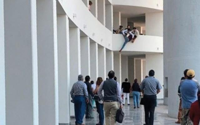 #Video Intento de suicidio en San Luis Potosí - Foto de Pulso SLP