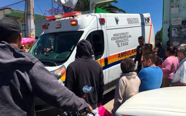 Niños de primaria resultan intoxicados en Nezahualcóyotl - Foto de @MXQNoticias