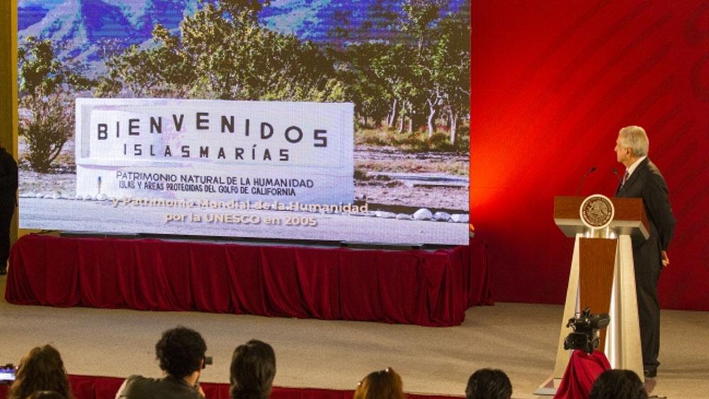 Publican decreto para desincorporar Islas Marías del Sistema Penitenciario - Foto de Notimex