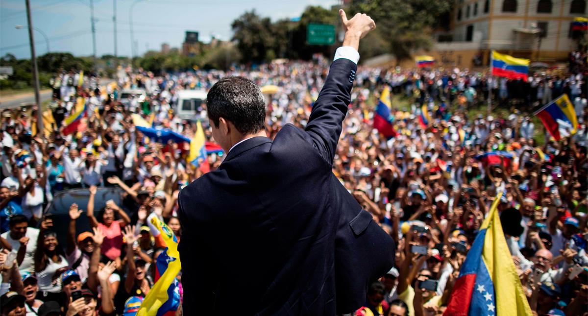 Guaidó convoca a la administración pública a realizar un paro escalonado