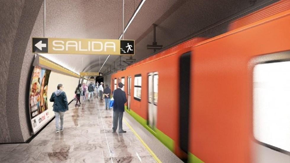Línea 12, el fracaso dorado del Metro de Ciudad de México - Línea 12 del Metro. Foto de Sobse