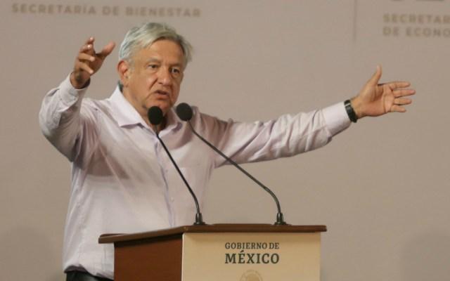 """Aún hay algunos """"malandrines"""" en el gobierno: López Obrador - Foto de Notimex"""