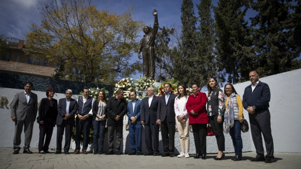 Brindan homenaje luctuoso en Tijuana a Luis Donaldo Colosio - Foto de Notimex