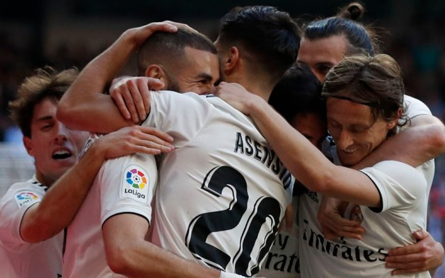 Real Madrid vence al Celta en regreso de Zidane - Foto de @realmadrid