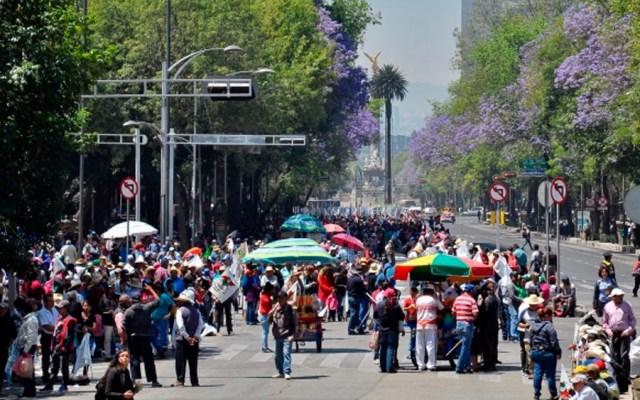 Al menos tres manifestaciones este viernes en la Ciudad de México - Foto de Notimex