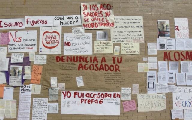 Acusan a profesor de la Prepa 6 de la UNAM de acosar a alumnas - Foto de @Fer_gom_b