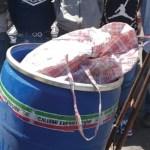 Detienen a cinco que transportaban mariguana dentro de tambo en Tepito - mariguana