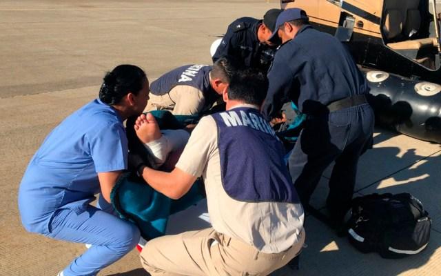 Equipos de México y EE.UU. se capacitan en rescate de personas - Foto de @SEMAR_mx