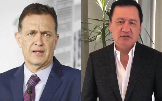 PAN y PRI no aprobarán revocación de mandato en el Senado - Mauricio Kuri y Osorio Chong. Foto del PAN y @osoriochong / LDD