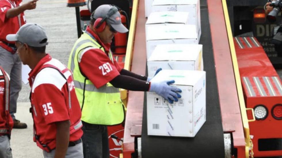 Venezuela recibe 65 toneladas de medicinas e insumos médicos de China - Foto de @NicolasMaduro
