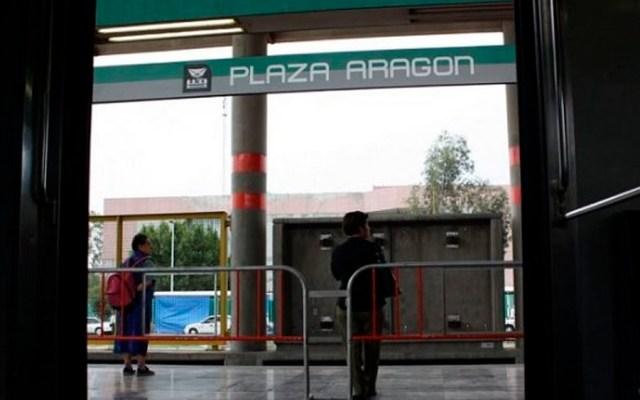 Muere persona tras caer a vías del Metro Plaza Aragón - Foto de archivo