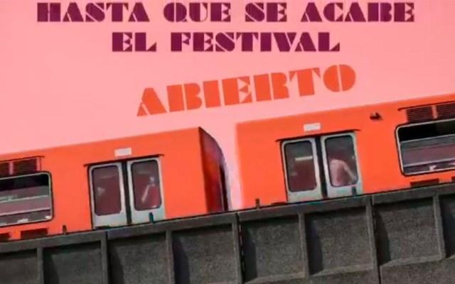 Horario especial en el Metro por Vive Latino