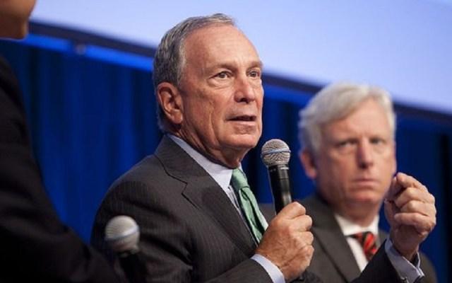 Michael Bloomberg descarta pelear por la Presidencia de EE.UU. - Michael Bloomberg. Foto de Bloomberg