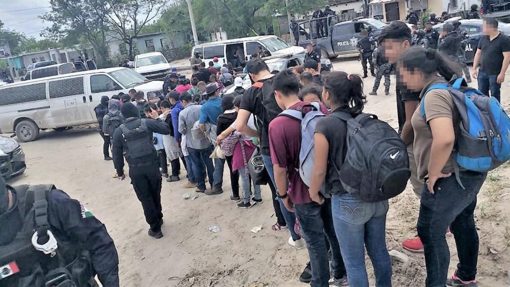 Rescatan a 107 migrantes en Reynosa