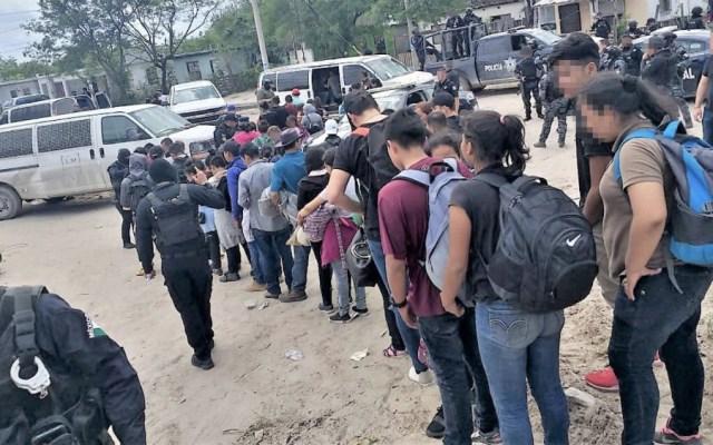 Rescatan a 107 migrantes centroamericanos en Tamaulipas - Foto de @adanmoctezuma