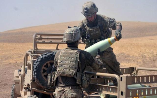 Fuerza siria apoyada por EE.UU. prevé 'batalla decisiva' contra ISIS - Militares de EE.UU. en Siria. Foto de Ejército de EE.UU.