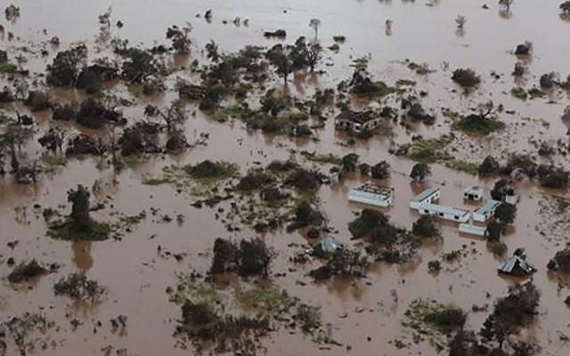 Ciclón 'Idai' sería el peor desastre meteorológico del hemisferio sur - Mozambique tras paso del ciclón Idai. Foto de AFP / Rick Emenaket / Mission Aviation Fellowship