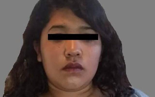 Mujer asesinó a golpes a su bebé porque no dejaba de llorar - Mujer detenida por homicidio de su bebé. Foto de FGJEM