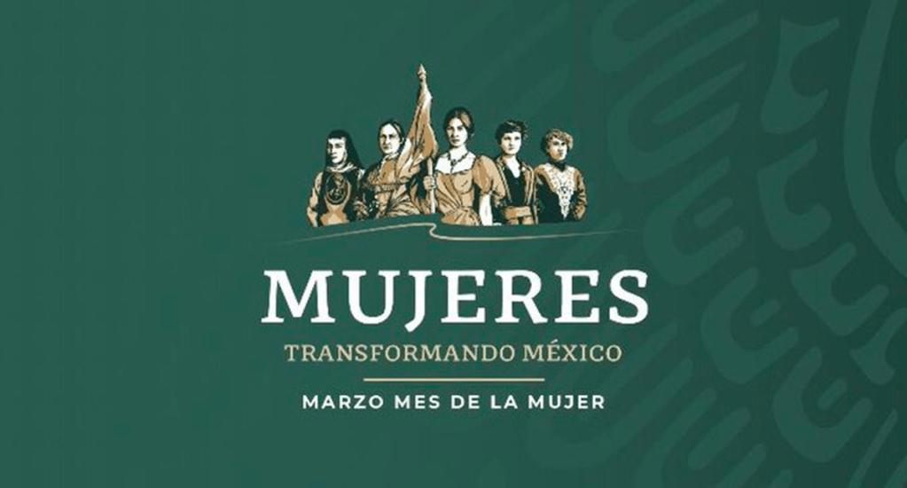 Gobierno celebra Día de la Mujer con nuevo logo - Nuevo logo del Gobierno Federal por Día de la Mujer. Foto de @AlfonsoDurazo