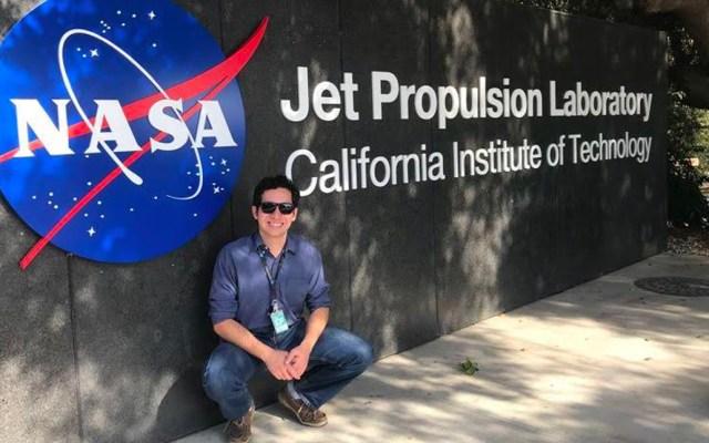Estudiante del Tec de Monterrey cuenta su experiencia en la NASA - Foto Emiliano Castillo Specia
