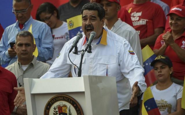 """Maduro pidió en su momento """"indemnización histórica"""" a España - Foto de AFP"""