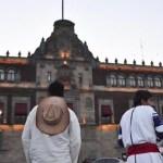 Normalistas y desplazados piden audiencia con López Obrador - Foto de Twitter