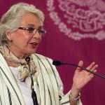 La rectoría de la educación es del estado: Sánchez Cordero - Olga Sánchez Cordero. Foto de Notimex-Francisco García.