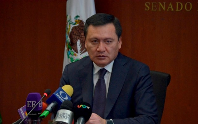 Habrá bloque opositor en revocación de mandato: Osorio Chong - Foto de Notimex