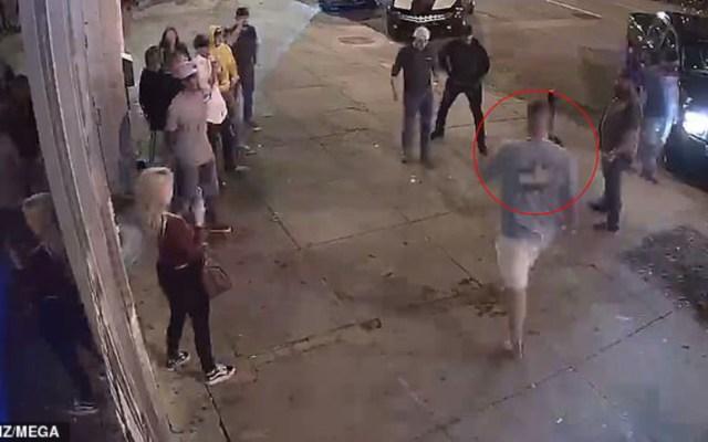 #Video Noquean a jugador de las Panteras de Carolina en pelea de bar - Foto de TMZ