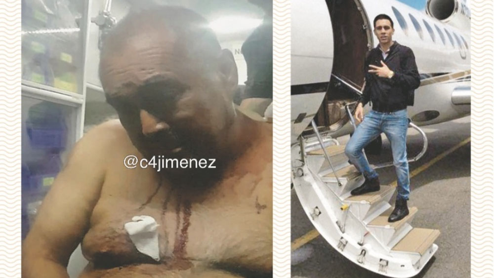 Así ocurrió el ataque a 'El Alexis' tras ser liberado el viernes - Foto de ContraRéplica