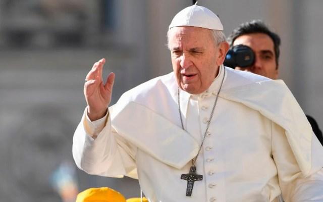 El papa Francisco insta al mundo a combatir violencia con paciencia - Foto de Vincenzo PINTO / AFP