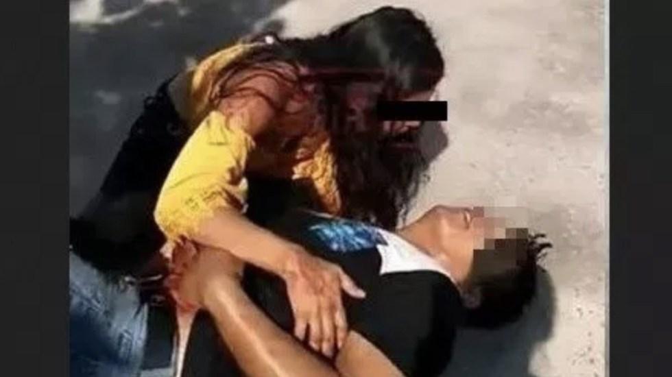Queda libre joven que apuñaló a su pareja en Iguala - Foto de Twitter