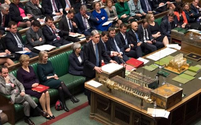 Parlamento británico vota contra Brexit sin acuerdo - Foto de AFP