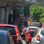 Restablecen circulación en Periférico Sur tras manifestación - Foto de Sofía Escobosa