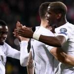 Francia e Inglaterra golean; Portugal se estrella en regreso de Cristiano - Foto de AFP