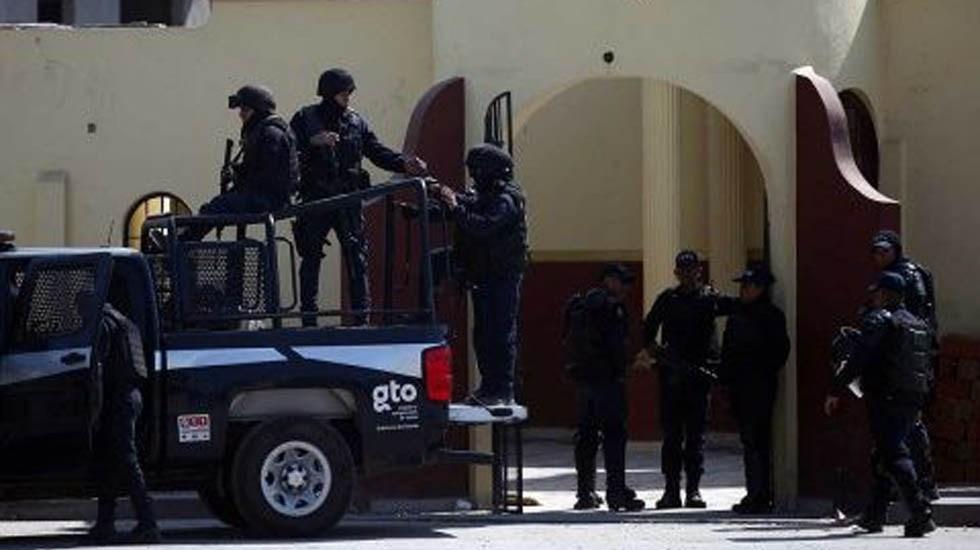Confirman a policía federal entre los detenidos en Guanajuato - Policía Federal en Guanajuato. Foto de Excélsior