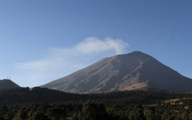 Popocatépetl ha tenido 119 exhalaciones en las últimas 24 horas - Foto de Notimex