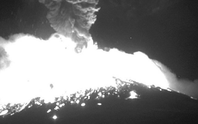 Nueva explosión del Popocatépetl - Foto de Webcams de México