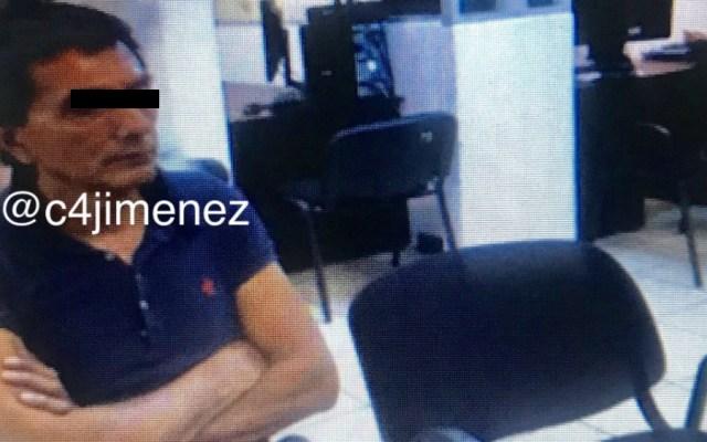 Capturan a sospechoso de robar residencia de David Monreal - Foto de @c4jimenez