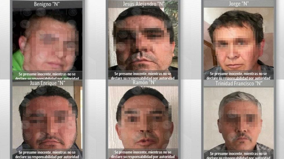 Jueza que liberó a 'el Alexis' también dejó ir a sicarios de 'el Mini Lic' - Presuntos sicarios de El Mini Lic. Foto de PGR