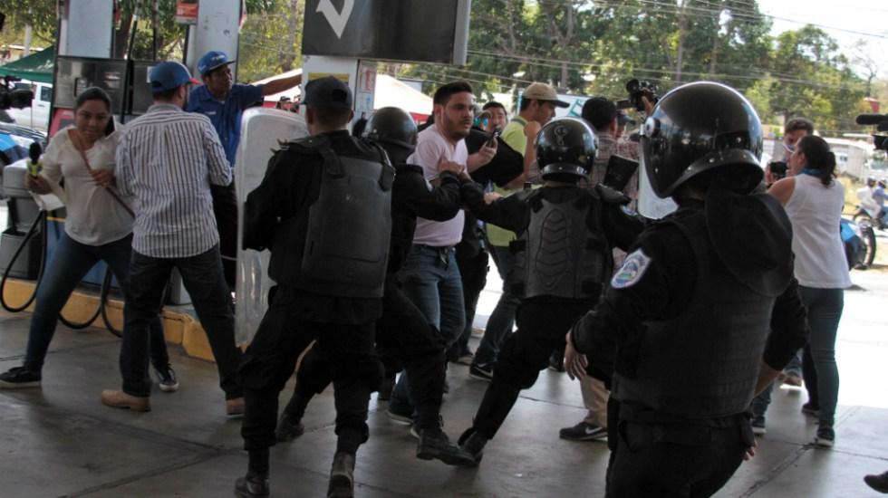 Detiene la policía en Nicaragua a más de 100 manifestantes - Foto de AFP