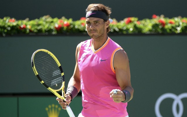 """Ojalá"" pueda jugar contra Federer: Nadal - Foto de @BNPPARIBASOPEN"
