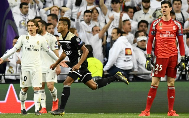 Ajax acaba con el reinado del Real Madrid en Champions - Foto de AFP