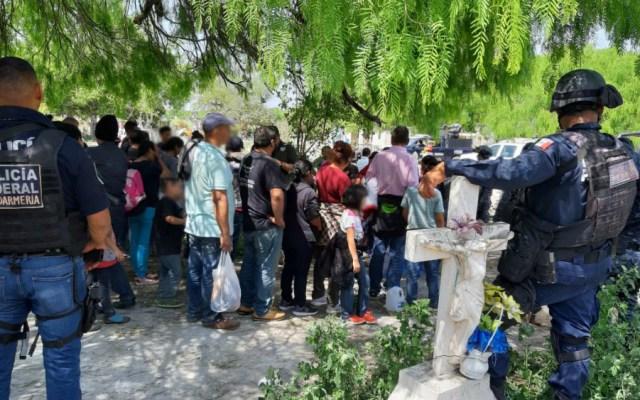 Policía Federal rescata a 79 centroamericanos en Tamaulipas - Foto de Secretaría de Seguridad y Protección Ciudadana