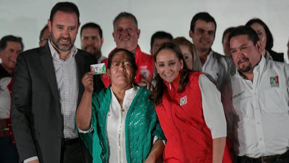 Ruiz Massieu en la Jornada de Afiliación en Zacatecas. Foto de @ruizmassieu