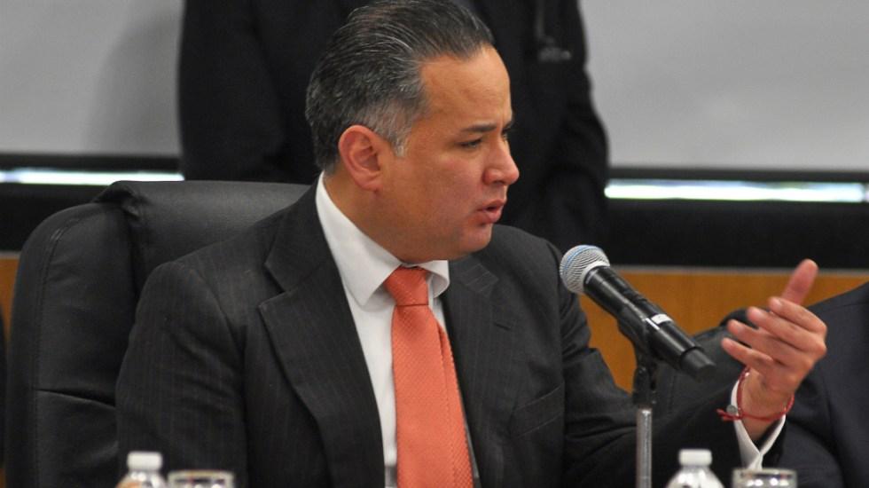 Congelados 3 mil mdp por 'huachicol': Santiago Nieto - Santiago Nieto UIF