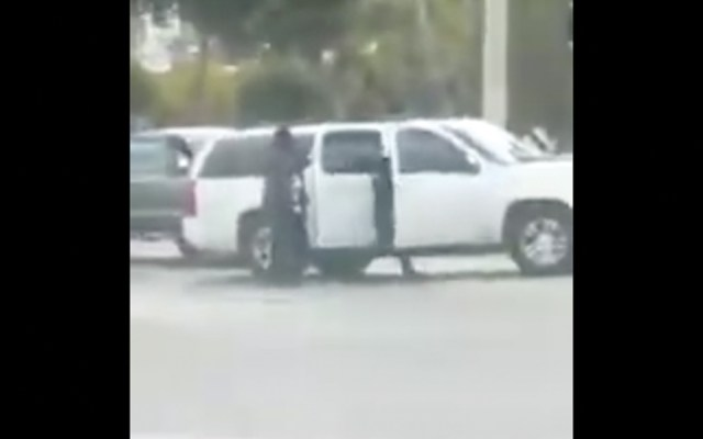 #Video Secuestran a dos personas en Tijuana